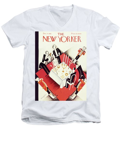 New Yorker December 4 1926 Men's V-Neck T-Shirt