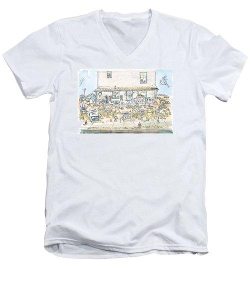 New Yorker December 7th, 1998 Men's V-Neck T-Shirt