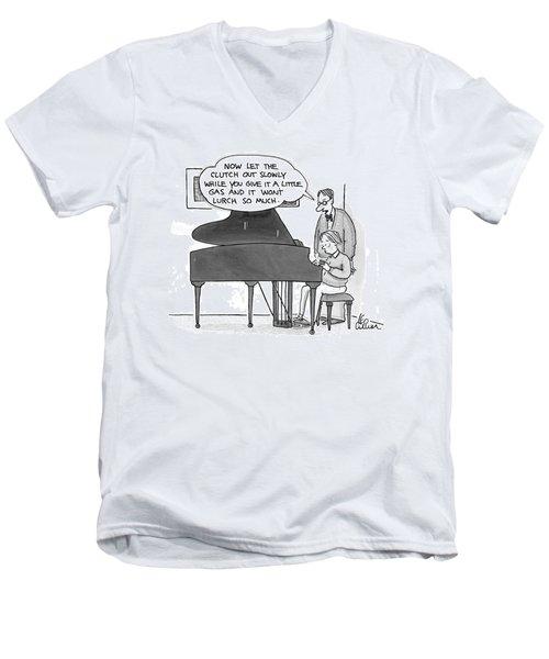 New Yorker December 8th, 1997 Men's V-Neck T-Shirt