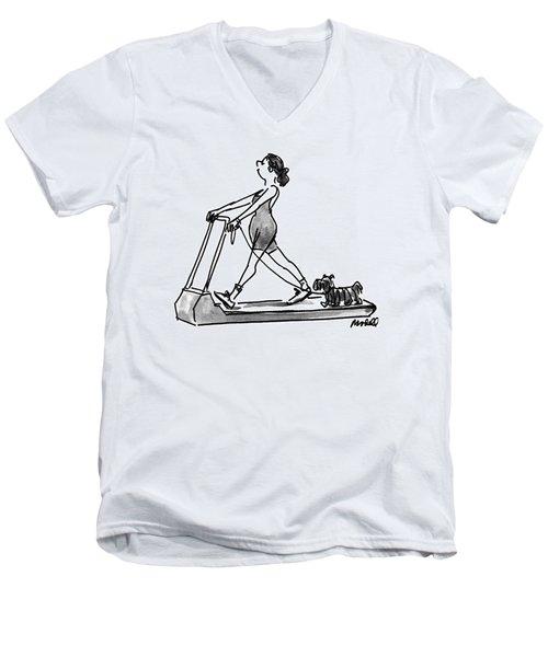 New Yorker February 14th, 1994 Men's V-Neck T-Shirt