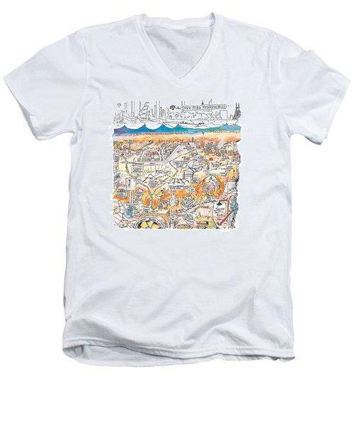 New Yorker February 22nd, 1999 Men's V-Neck T-Shirt