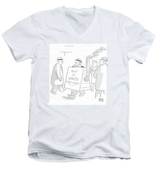 New Yorker February 26th, 1944 Men's V-Neck T-Shirt