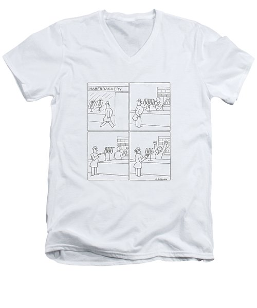 New Yorker January 31st, 1942 Men's V-Neck T-Shirt