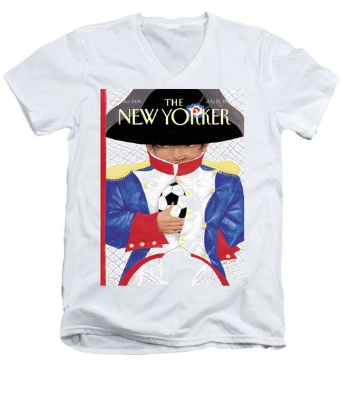 New Yorker July 13th, 1998 Men's V-Neck T-Shirt
