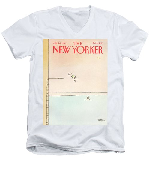 New Yorker July 20th, 1981 Men's V-Neck T-Shirt