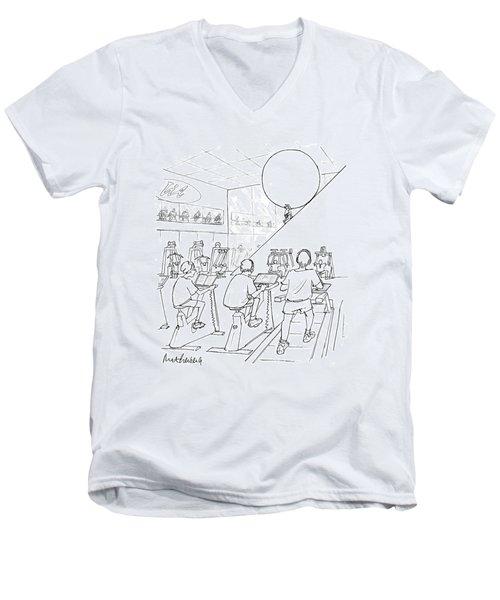 New Yorker July 20th, 1998 Men's V-Neck T-Shirt