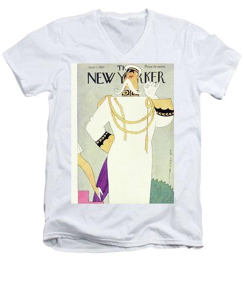 New Yorker June 1 1929 Men's V-Neck T-Shirt