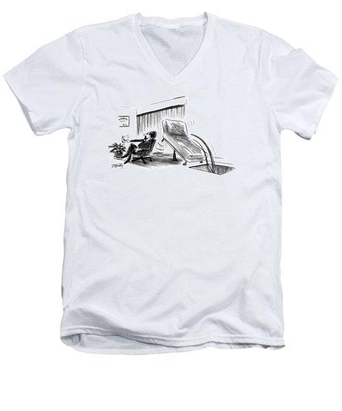 New Yorker June 10th, 1991 Men's V-Neck T-Shirt