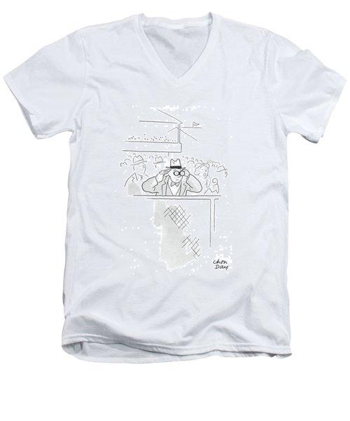 New Yorker June 20th, 1942 Men's V-Neck T-Shirt