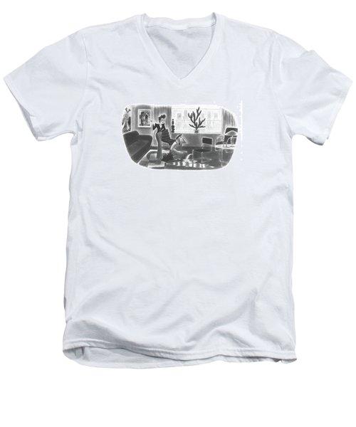 New Yorker June 28th, 1941 Men's V-Neck T-Shirt