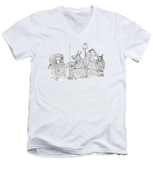 New Yorker June 28th, 1993 Men's V-Neck T-Shirt