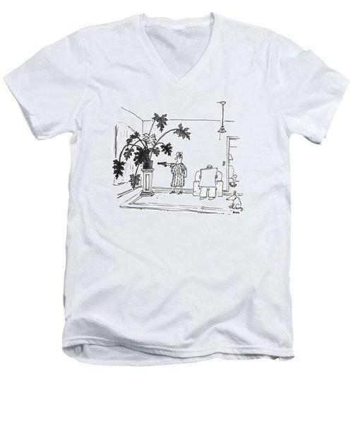 New Yorker June 29th, 1992 Men's V-Neck T-Shirt