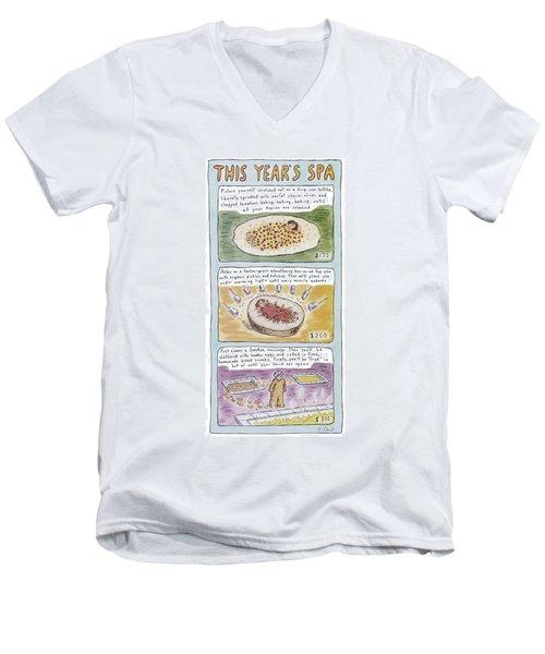 New Yorker June 2nd, 1997 Men's V-Neck T-Shirt