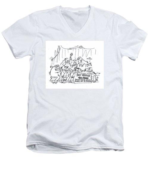 New Yorker March 12th, 1979 Men's V-Neck T-Shirt