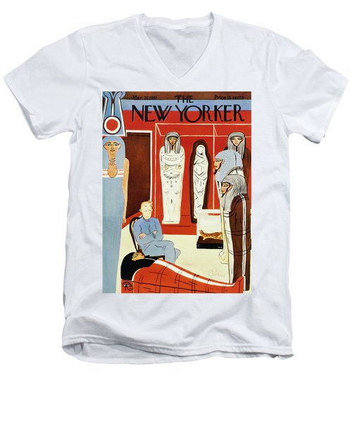 New Yorker March 28 1931 Men's V-Neck T-Shirt