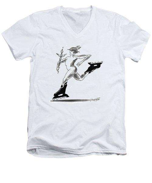New Yorker March 29th, 1993 Men's V-Neck T-Shirt