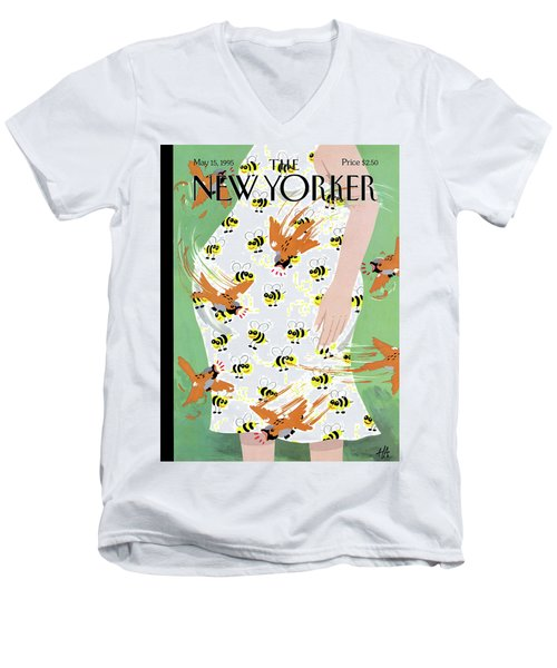 New Yorker May 15th, 1995 Men's V-Neck T-Shirt
