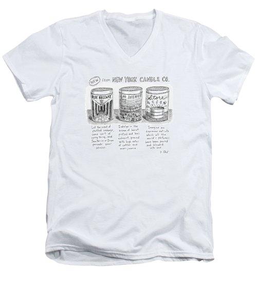 New Yorker May 15th, 2017 Men's V-Neck T-Shirt