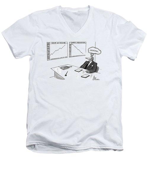 New Yorker May 16th, 1994 Men's V-Neck T-Shirt
