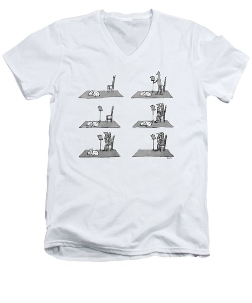 New Yorker May 17th, 1976 Men's V-Neck T-Shirt