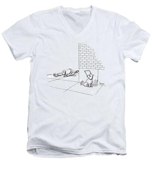 New Yorker May 19th, 1997 Men's V-Neck T-Shirt