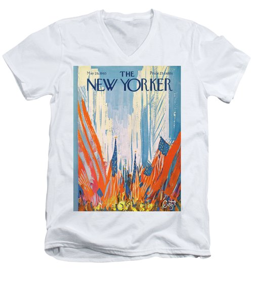 New Yorker May 29th, 1965 Men's V-Neck T-Shirt