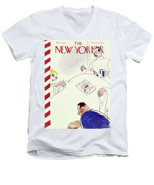 New Yorker May 8 1937 Men's V-Neck T-Shirt