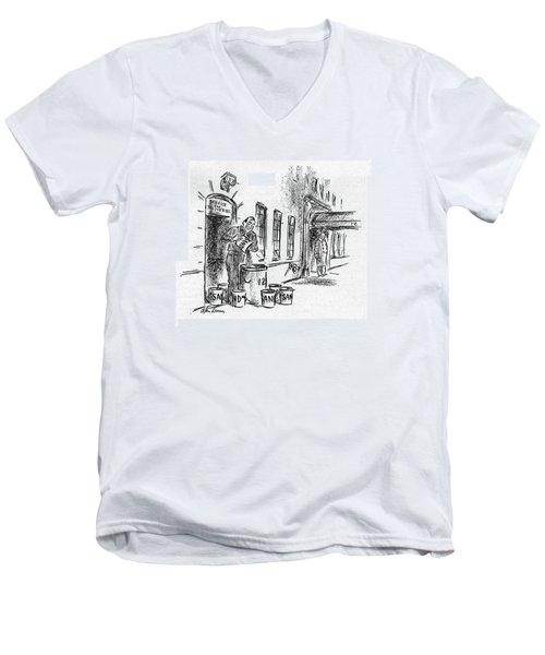 New Yorker November 11th, 1944 Men's V-Neck T-Shirt