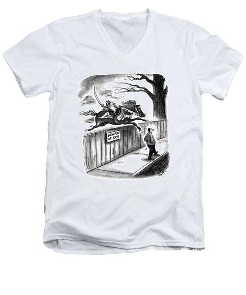 New Yorker November 14th, 1994 Men's V-Neck T-Shirt