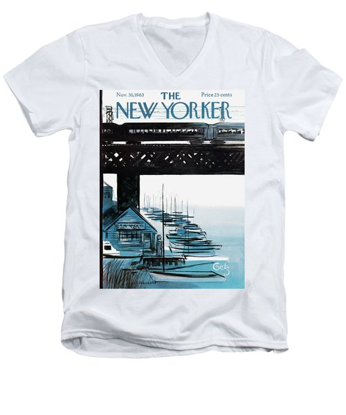 New Yorker November 30th, 1963 Men's V-Neck T-Shirt