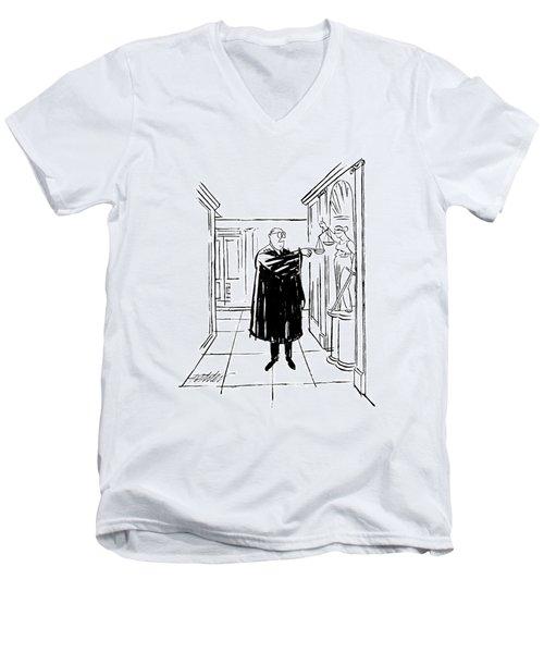 New Yorker November 9th, 1963 Men's V-Neck T-Shirt