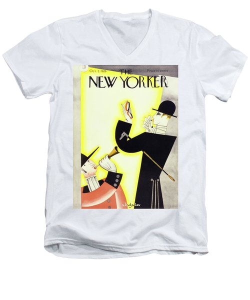 New Yorker October 2 1926 Men's V-Neck T-Shirt