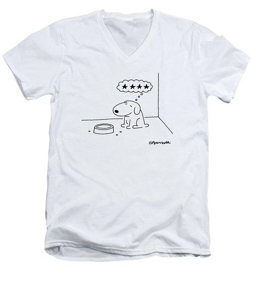 New Yorker October 20th, 1986 Men's V-Neck T-Shirt