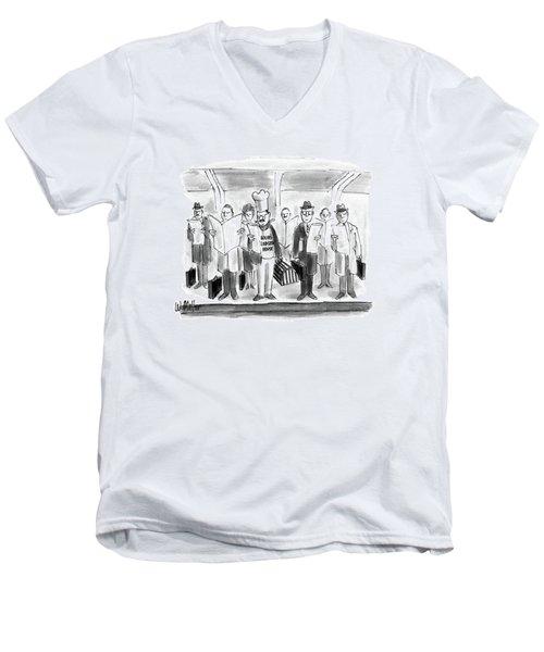 New Yorker October 24th, 1988 Men's V-Neck T-Shirt