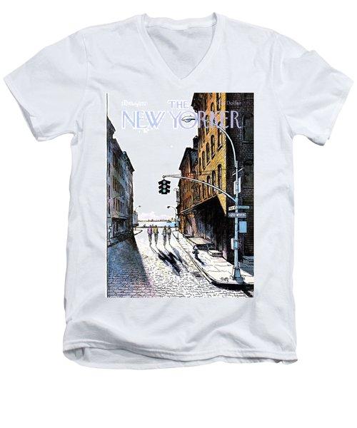New Yorker October 2nd, 1978 Men's V-Neck T-Shirt