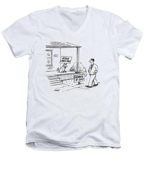 New Yorker September 27th, 1993 Men's V-Neck T-Shirt