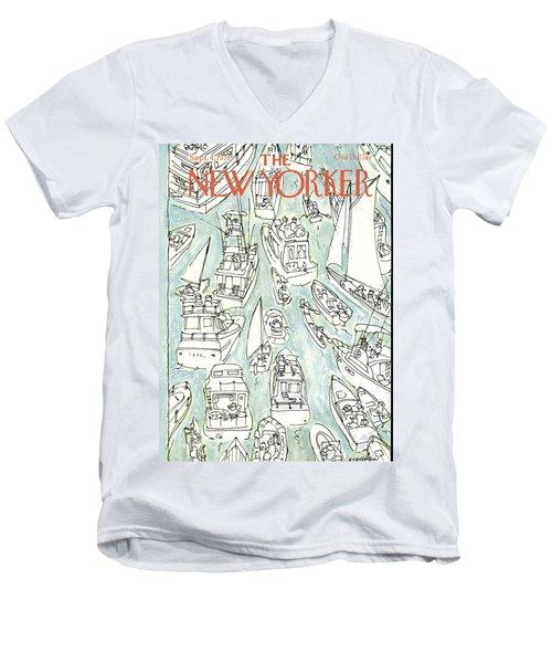 New Yorker September 4th, 1978 Men's V-Neck T-Shirt