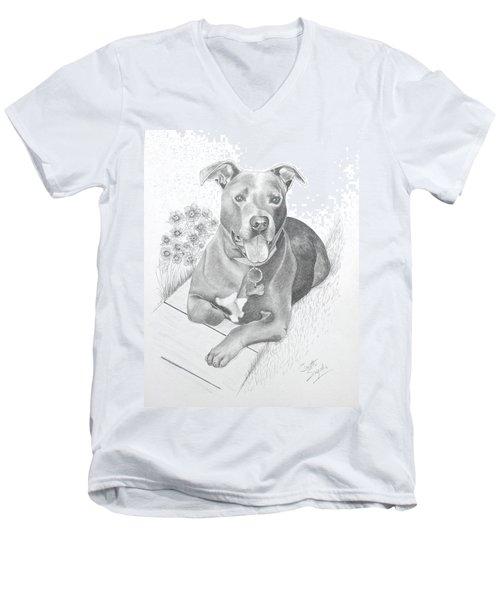 Newman Men's V-Neck T-Shirt
