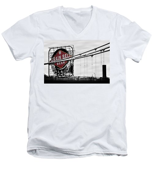 Nicollet Island Treasure Men's V-Neck T-Shirt