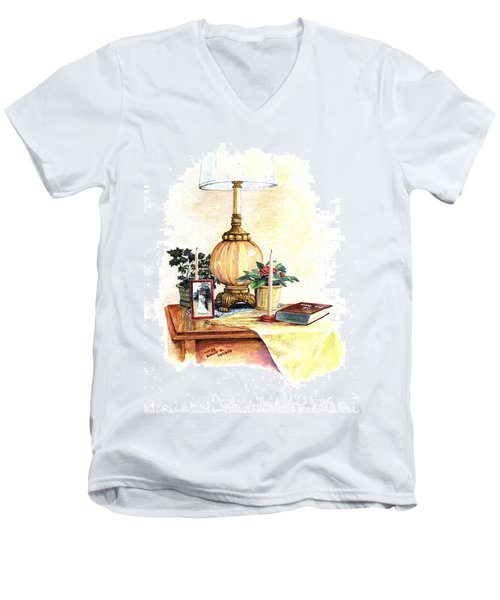 Nightstand Men's V-Neck T-Shirt