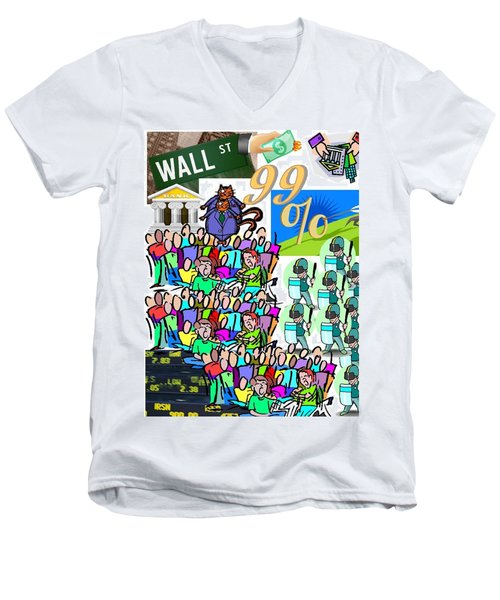Ninety Nine In A Half Wont  Do Men's V-Neck T-Shirt