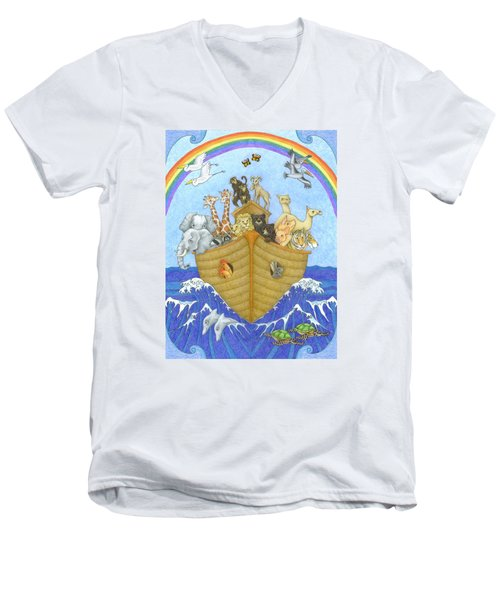 Noah's Ark Men's V-Neck T-Shirt