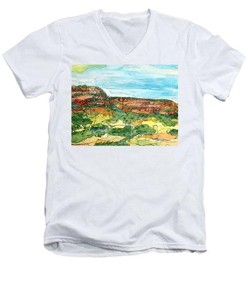 North Mesa Men's V-Neck T-Shirt