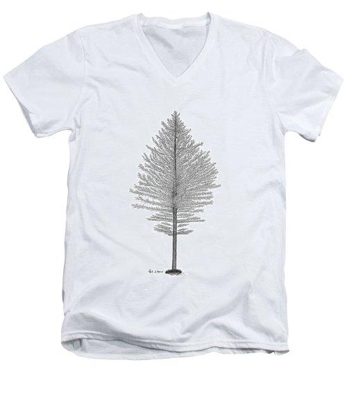 North Of America Men's V-Neck T-Shirt