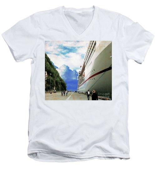 North To Alaska Men's V-Neck T-Shirt