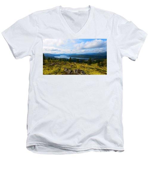Norwegian Landscape 3 Men's V-Neck T-Shirt