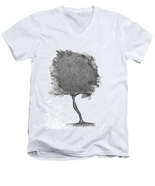 November 2011 Men's V-Neck T-Shirt