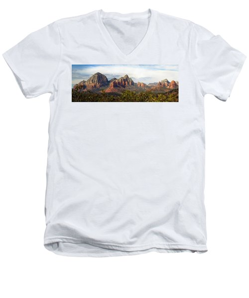 Oak Creek Canyon Sedona Pan Men's V-Neck T-Shirt