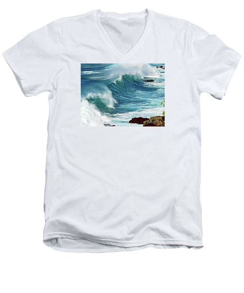 Ocean Majesty Men's V-Neck T-Shirt