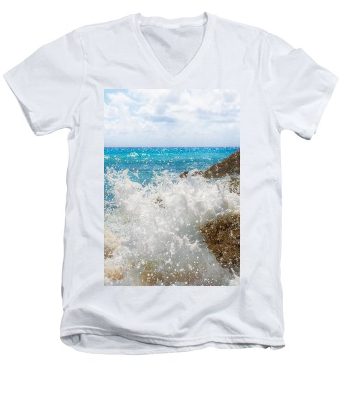 Ocean Spray Men's V-Neck T-Shirt